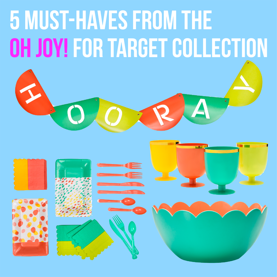 5 must-haves from the Oh Joy! for Target collection