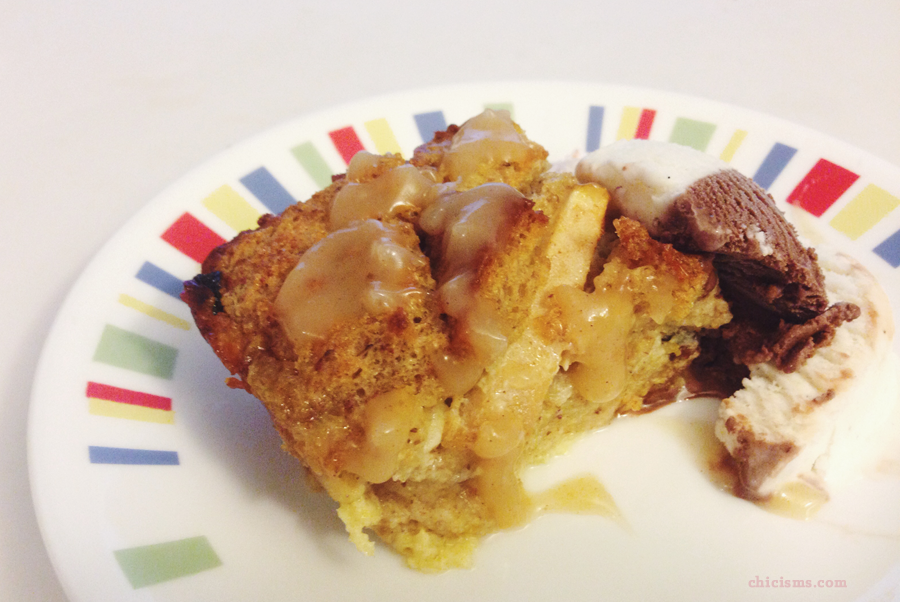 Apple Bread Pudding Recipe | Chicisms