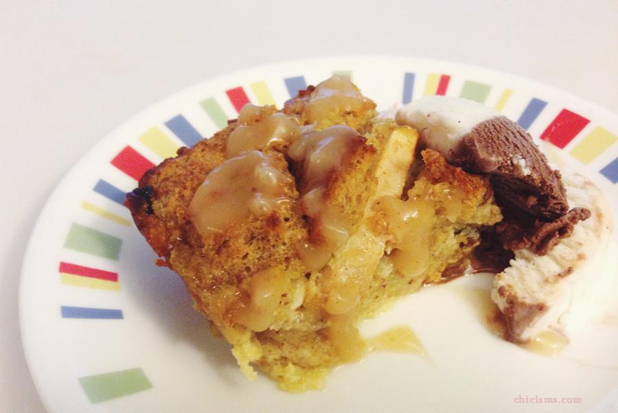 Apple Bread Pudding Recipe | Chicisms